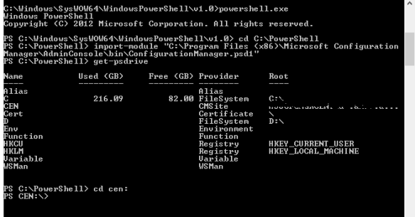 ConfigMgr and PowerShell-Preparing Your Environment | Greg's Systems
